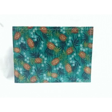 Pineapples on Blue